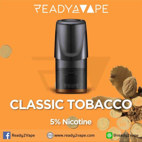 RELX Pod Classic Tobacco : น้ำยาบุหรี่ไฟฟ้าสำหรับ RELX