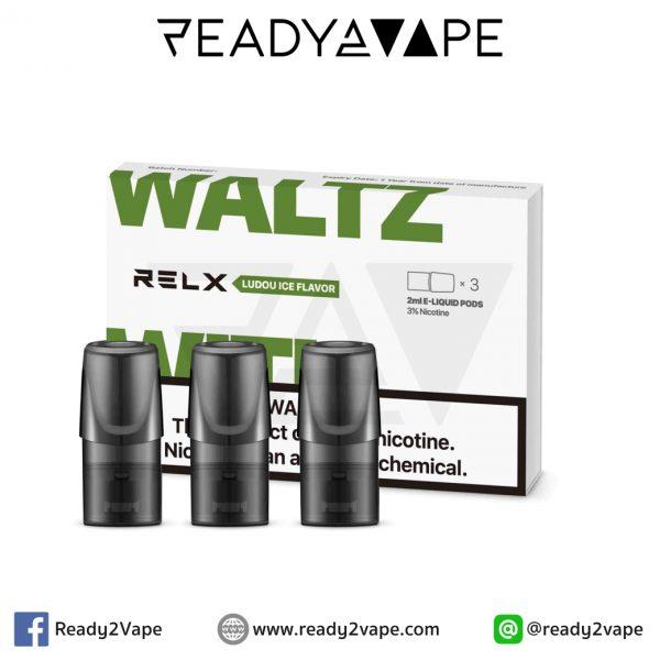 RELX Pod Mung Bean : น้ำยาบุหรี่ไฟฟ้าสำหรับ RELX