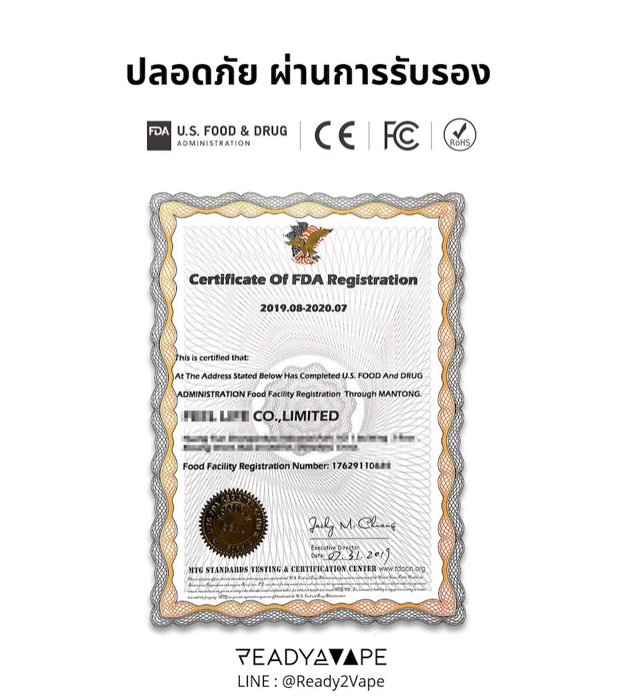 VFOLK_บุหรี่ไฟฟ้า Pod Vape_R2V_certificated